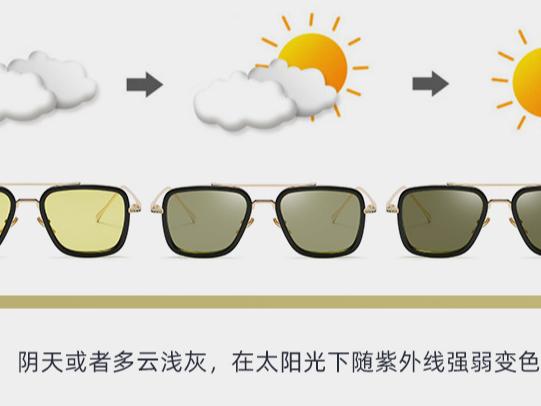 眼镜厂家带大家了解变色近视眼镜的普遍常见问题