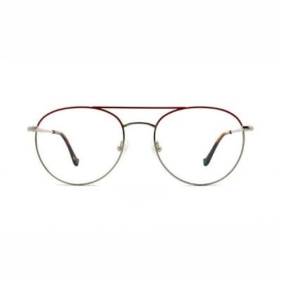 钛金属眼镜-MG0513银红