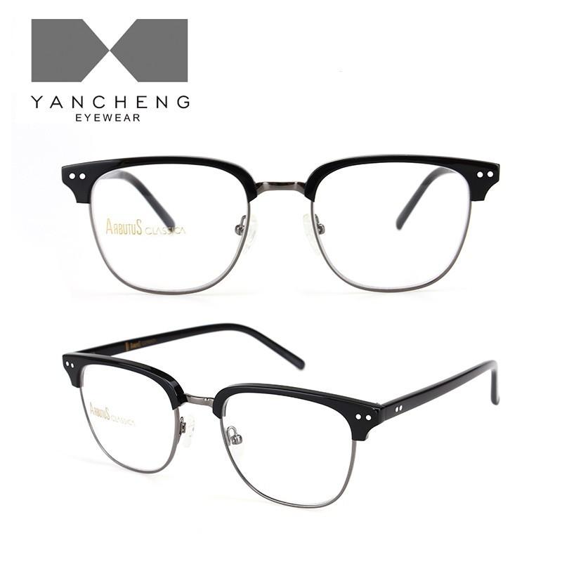 醋酸板材金属光学眼镜-G6002