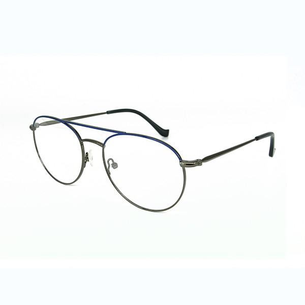 钛金属眼镜-MG0513枪蓝色