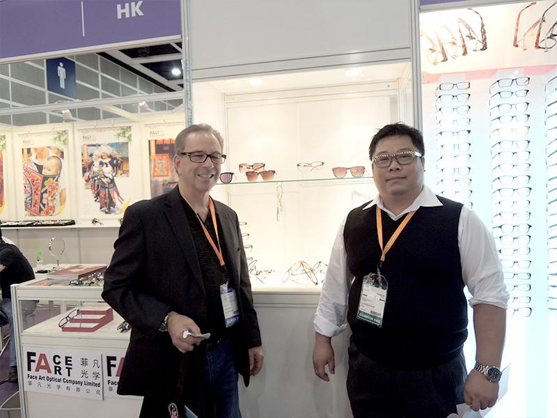 TONY SAME品牌向衍诚定制醋酸板眼镜案例