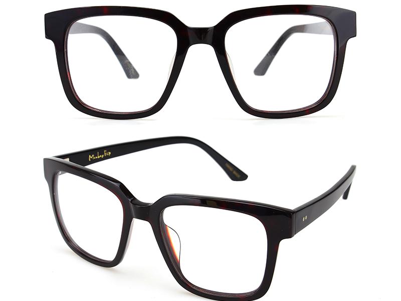 眼镜厂家:眼睛近视度数又又加深了,原来是大框眼镜搞的鬼。