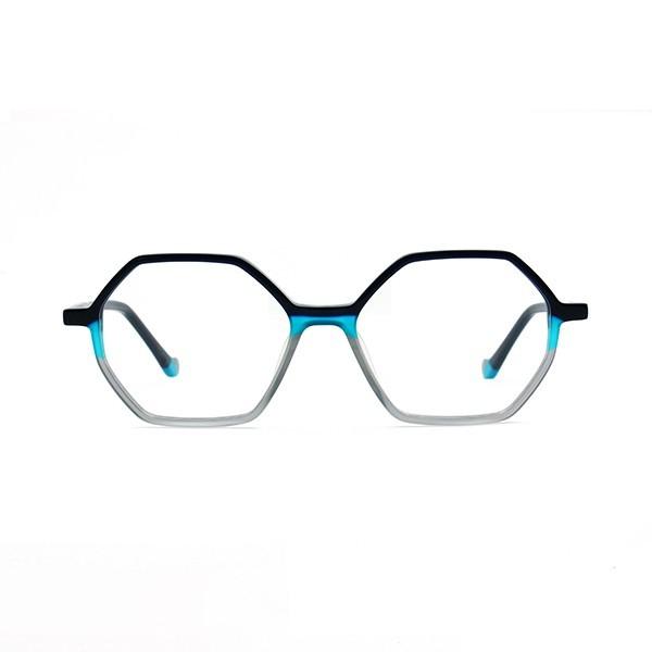 醋酸板材光学眼镜架-G5297蓝黑灰