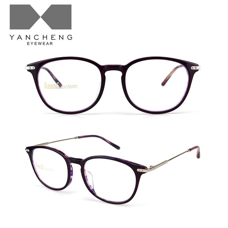 醋酸板材金属光学眼镜G6001