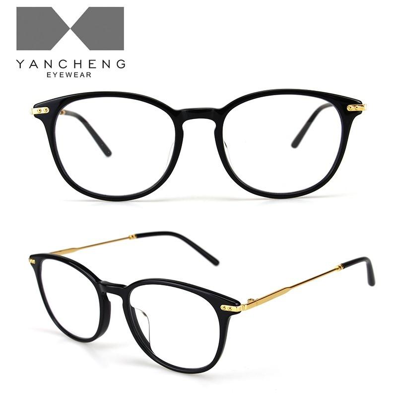 醋酸板材金属光学眼镜-G6001